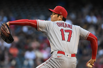 Shohei Ohtani records eight strikeouts, knocks in a run in Angels' 6-5 win over Diamondbacks