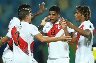 Peru beats Colombia, 2-1, thanks to Colombia's second half own goal