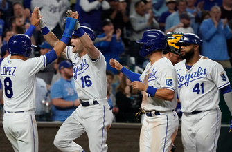 Royals double up Pirates, 10-5, behind home runs from Andrew Benintendi and Salvador Perez