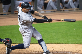 Gary Sanchez and Miguel Andujar power Yankees to 8-4 win over Twins thumbnail