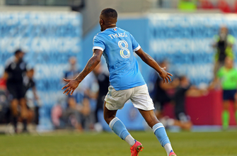 Thiago scores in stoppage time to give NYCFC 2-1 win over D.C. United