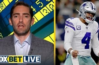 Will the Dallas Cowboys win at least 10 games? | FOX BET LIVE