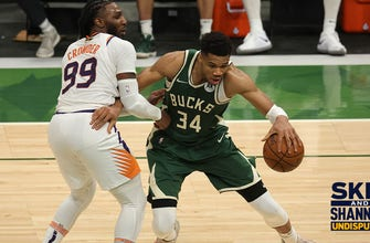 Shannon Sharpe: I'm taking the Bucks to win GM 4; Giannis will pick up where he left off I UNDISPUTED thumbnail