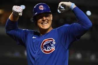 Anthony Rizzo, Jason Heyward, Patrick Wisdom all homer in Cubs' 5-1 win over D'Backs