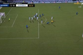 Alex Roldan le da a El Salvador una ventaja tardía de 1-0 sobre Guatemala