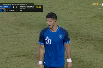 La fuerte segunda mitad de Guatemala los impulsa a empatar 1-1 contra Trinidad y Tobago