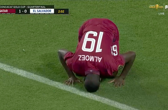 Qatar takes early 1-0 lead vs. El Salvador after beautiful counter