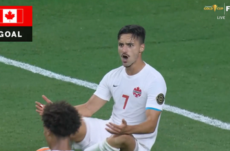 Costa Rica turnover leads to Stephen Eustáquio goal, doubling up Canada's lead, 2-0