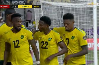 La secuencia de regates irreal de Junior Flemmings ayuda a Jamaica a tomar la delantera 2-1 contra Guadalupe