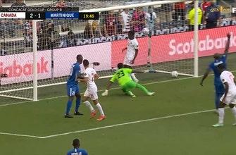 Jonathan Osorio gives Canada 2-1 lead over Martinique