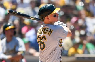 Matt Chapman's solo homer gives A's 2-0 victory over Angels thumbnail