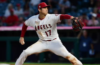 Shohei Ohtani strikes out five, drives in a run to lead Angels over Rockies, 6-2