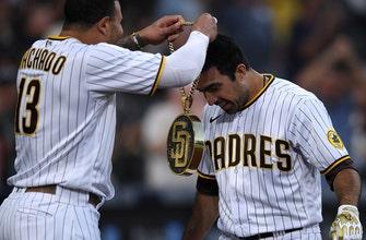 Trent Grisham swats walk-off RBI single giving Padres 9-8 vs. Nationals