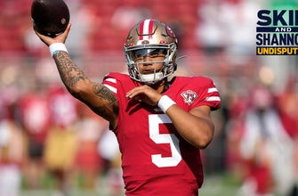 Skip Bayless: If I ran the 49ers, I'd start Trey Lance, who will be the best among these young quarterbacks I UNDISPUTED thumbnail