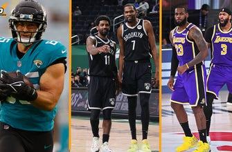 Nick Wright reacciona a la liberación de Tim Tebow por parte de los Jaguars y el enfrentamiento navideño Lakers-Nets I THE HERD