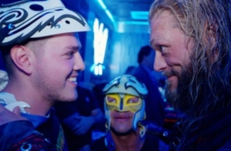 Edge & Rey Mysterio prepare Dominik for his first match in front of a live audience thumbnail