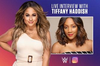 Tiffany Haddish joins Kayla Braxton live on WWE's Instagram channel thumbnail