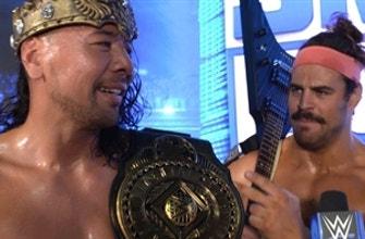 El Rey Nakamura celebra convertirse en Campeón Intercontinental: 13 de agosto de 2021