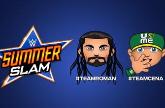 Twitter revela emojis personalizados de Roman Reigns y John Cena para SummerSlam