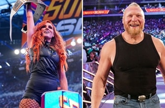 Brock Lesnar and Becky Lynch shock WWE Universe with returns: WWE Now, August 26, 2021