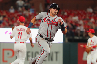Austin Riley belts homer helping Braves beat Cardinals, 8-4 thumbnail
