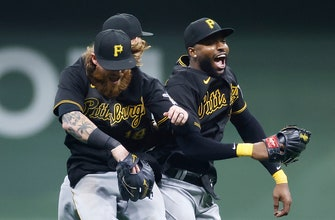 Gregory Polanco's RBI single helps Pirates earn 8-6 win over Brewers in extras thumbnail