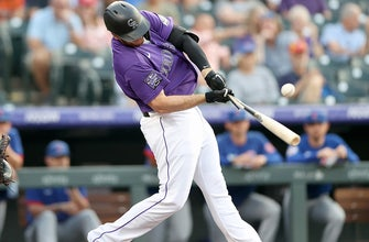 C.J. Cron's two homers highlight Rockies' 14-2 pummeling of Marlins thumbnail