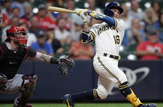 Kolten Wong drives in three, homers as Brewers beat Reds, 7-4 thumbnail