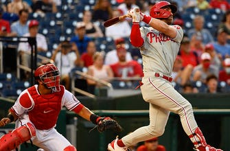 Bryce Harper cranks 26th homer of the season in Phillies' 7-4 win over Nationals thumbnail