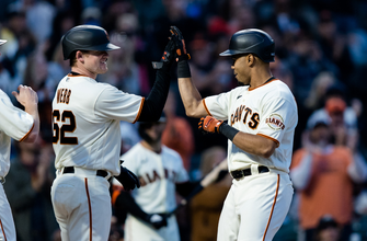 LaMonte Wade Jr. stays hot, belts another homer in Giants' 7-0 victory over Rockies thumbnail