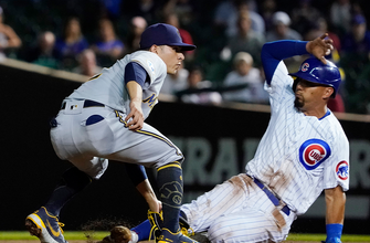 Brewers take big lead early and hold on for 6-3 win vs. Cubs thumbnail
