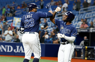 Nelson Cruz cranks two homers, drives in five runs in Rays' 10-0 rout of Orioles thumbnail