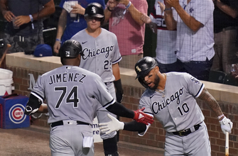 Eloy Jimenez goes for two homers, five RBI as White Sox beat Cubs, 9-3 thumbnail