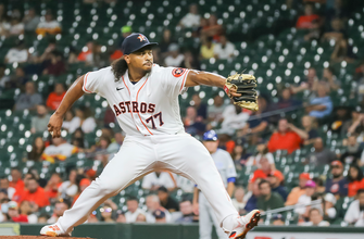 Luis Garcia strikes out seven over six-plus, gives up no runs as Astros shut out Royals, 4-0 thumbnail