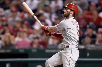 Bryce Harper helps Phillies to fourth-straight win defeating Nationals, 9-5 thumbnail