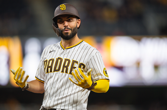 Eric Hosmer sparks Padres offense with solo shot and two RBI in 8-3 win over Marlins