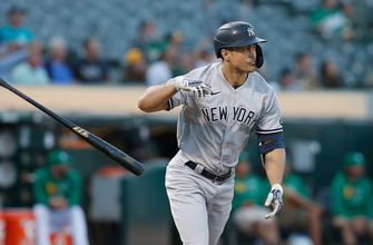 Giancarlo Stanton clubs mammoth homer as Yankees beat Athletics for 13th straight, 8-2 thumbnail