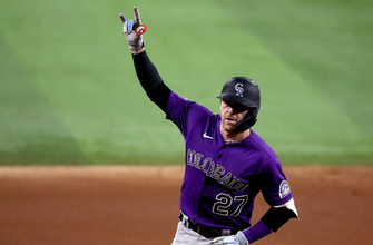 Trevor Story's two homers not enough as Rockies fall to Rangers, 4-3 thumbnail