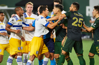 Earthquakes, Javier López scored first goal, but Timbers found equalizer, 1-1