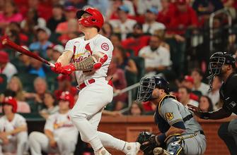 Tyler O'Neill's three-run homer highlights Cardinals' 8-4 victory over Brewers thumbnail