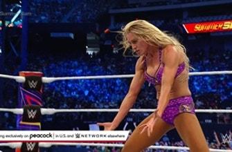 Charlotte Flair planta tanto a Nikki ASH como a Rhea Ripley: SummerSlam 2021 (Exclusivo de WWE Network)