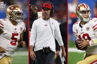 Marcellus Wiley on Kyle Shanahan's 2-QB system: It was a glorified Gatorade break for Jimmy G at times I SPEAK FOR YOURSELF