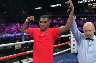 Starling Castillo defeats Juan Burgos in a hard-fought battle