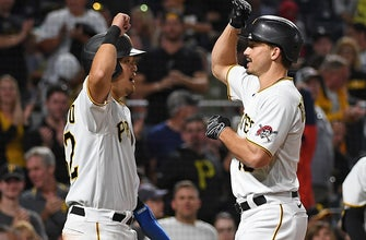 Bryan Reynolds goes 2-for-3 with a homer, three RBIs as Pirates beat Nationals, 10-7 thumbnail