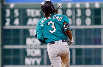 J.P. Crawford's home run powers Mariners over Astros, 8-5
