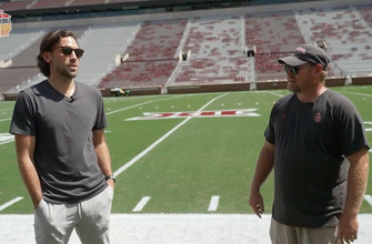 Mark Titus gets a true Oklahoma Sooner experience on his tour in Norman: Ultimate College Football Road Trip ...