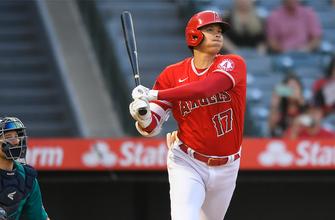 Shohei Ohtani triples twice as Angels pummel Mariners, 14-1