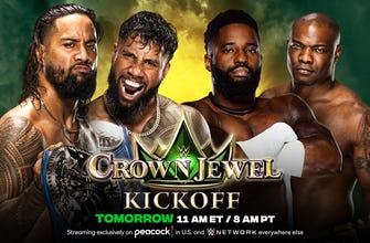 SmackDown Tag Team Champions The Usos vs. Cedric Alexander & Shelton Benjamin (Kickoff Match) thumbnail