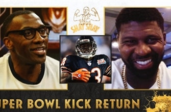 """""""Colts players gassed Dungy up"""" — Devin Hester on returning the opening kickoff in Super Bowl XLI  I Club Shay Shay"""