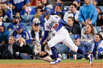 Mookie Betts' clubs clutch two-run homer in Dodgers' NLDS Game 4 win over Giants thumbnail